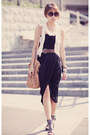 Black-lycyd-acyd-dress-tawny-forever-new-bag