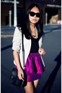 Black-necklace-purple-asos-skirt-black-heels