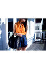 Orange-dotti-shirt-black-rocco-alexander-wang-bag