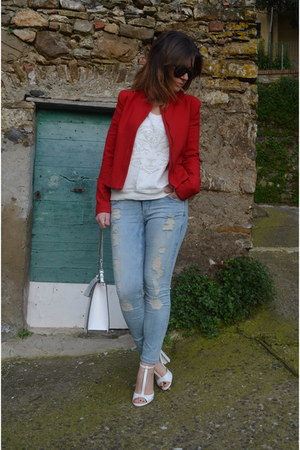 Camaeu jacket - H&amp;M jeans - Zara jumper