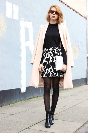 light pink Zara coat