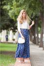 Stradivarius-shirt-misako-bag-primark-sandals-vintage-skirt
