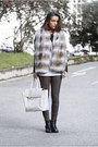 Black-leather-zara-jacket-white-tote-nowistyle-bag-dark-khaki-zara-pants