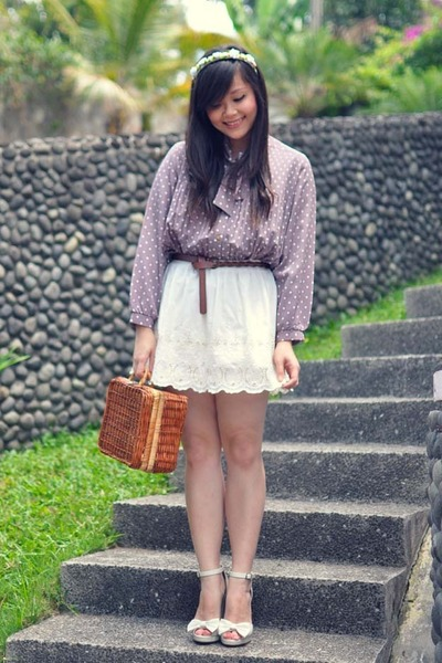 white Maize skirt