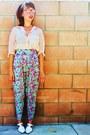 Sheer-h-m-blouse-floral-harem-vintage-pants-white-vintage-sandals