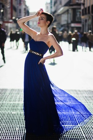 blue Mango dress