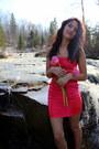 Hot-pink-dress