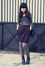 Gray-miss-selfridges-blazer-gray-daisy-days-top-black-topshop-skirt-gray-s