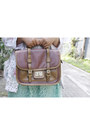 Beige-vintage-blazer-silver-river-island-shirt-dark-brown-milanoo-bag