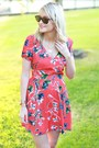 floral dress Prop shop dress