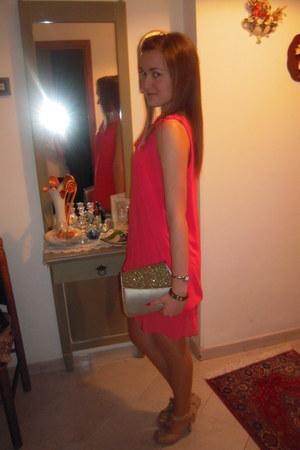 red chiffon XTSY dress