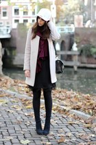 Zara dress - Zara coat - Kenzo hat - PROENZA SCHOULER bag