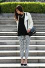 Ivory-leather-zara-jacket-black-proenza-schouler-bag