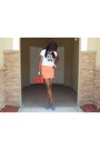 Cropped-victorias-secret-top-american-apparel-skirt-urban-original-heels
