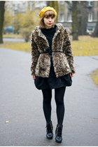 Zara coat - River Island skirt