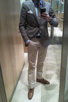 Zara shoes - Zara blazer - Zara shirt - Zara pants - Guess Collection watch