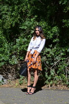 31 Phillip Lim skirt - Forever 21 shirt - selma satchel Michael Kors bag