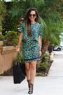 Black-tote-charlotte-russe-bag-dark-green-floral-print-savous-top