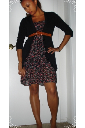 swapstyle sweater - Ebay dress - unknown brand belt