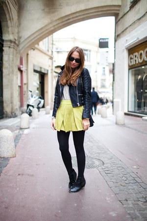 romwe skirt - Topshop jacket