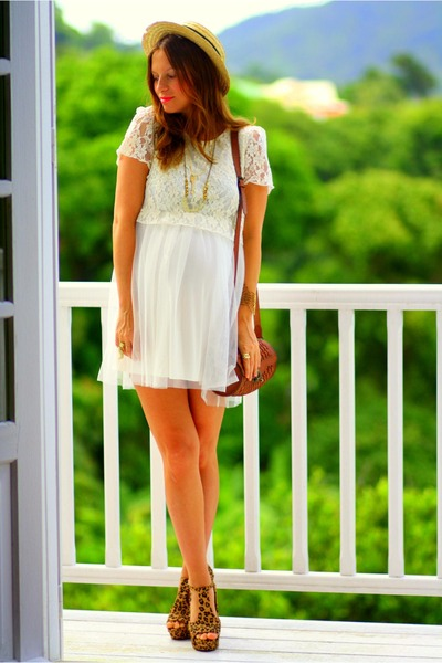 Jeffrey Campbell sandals - asos dress