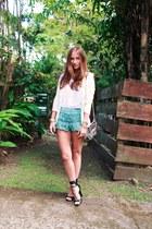 Chicwish shorts - Chicwish blouse