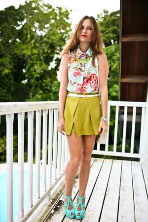 Romwecom blouse - Romwecom shorts