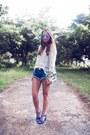 Nastygal-shorts-chicwish-top