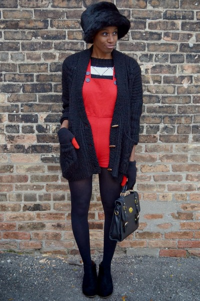 black Tobi cardigan - black suede ankle cotton on boots
