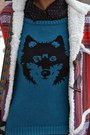 Tawny-modcloth-boots-purple-ladakh-coat-blue-wolf-ladakh-sweater