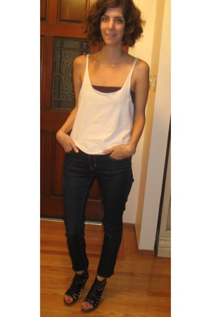 J Brand jeans - Jeffrey Campbell shoes