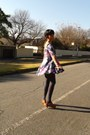 Flare-yde-dress-leather-country-road-clogs