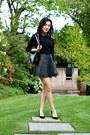 Black-boy-bag-chanel-bag-black-pleather-club-monaco-skirt