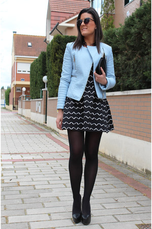 Zara jacket - H&M dress - Zara bag