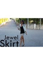 Zara skirt - Zara blazer - Primark bag