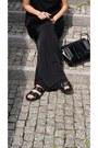 Black-zara-bag-black-cubus-sunglasses-black-palazzo-h-m-pants