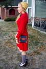 Ruby-red-vintage-dress