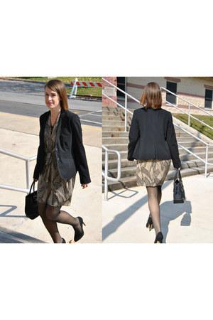 piperlime dress - black kohls blazer
