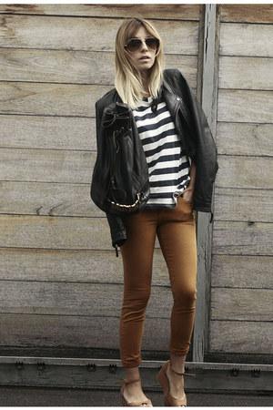 Zara jacket - Topshop jeans
