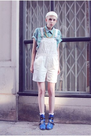 dungaree Mind the Mustard shorts - aztec Mind the Mustard shirt
