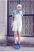 dungaree Mind the Mustard shorts - aztec Mind the Mustard shirt