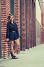 Black-american-apparel-blouse-brown-belt-blue-rag-bone-shorts-black-shoe