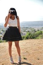 forever 21 top - twelve by twelve skirt - Pour La Victoire shoes