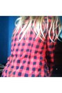 Checkered-new-look-blouse