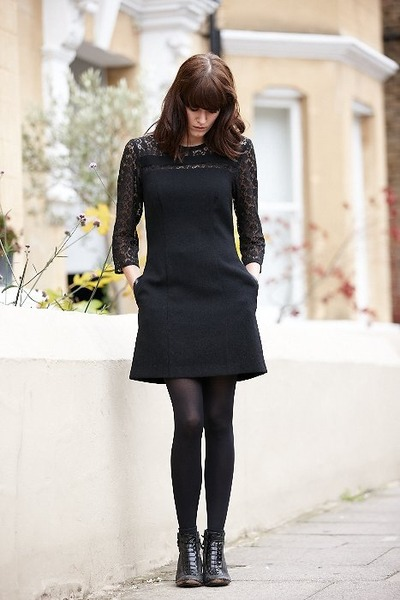 black Tia Dress dress