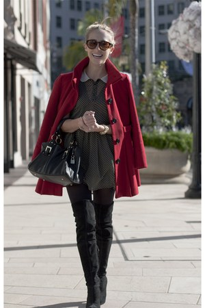 ruby red red jacket asos jacket