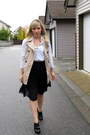 Tan-forever21-vest-light-blue-zara-blouse-black-club-monaco-skirt