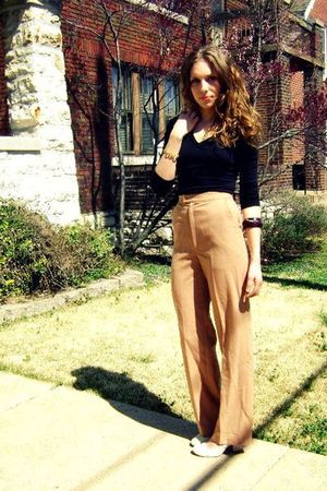 bracelet - bracelet - deena &amp; ozzie shoes - pants - Forever 21 top