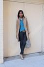 Tan-h-m-coat-navy-skinny-jeans-forever-21-jeans