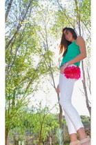 H&M jeans - Zara shirt - Bang Bang TKF bag